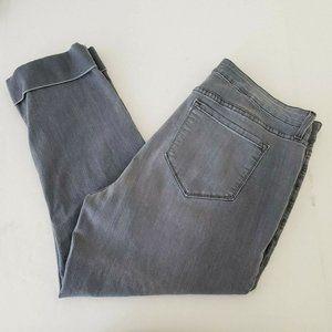 NYDJ Cuffed Bootcut Mom Jeans
